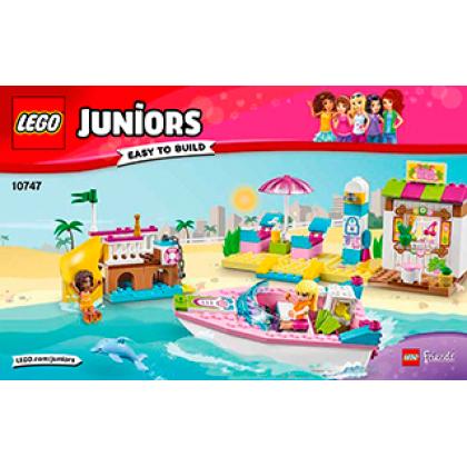 """LEGO 10747 """"Юниор"""" День на пляже с Андреа и Стефани"""