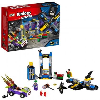 """LEGO 10753 """"Юниор"""" Нападение Джокера на Бэтпещеру"""