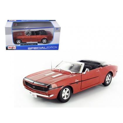 MAISTO 31257 Модель автомобиля 1:24 Шевроле Камаро SS 396 (1968)