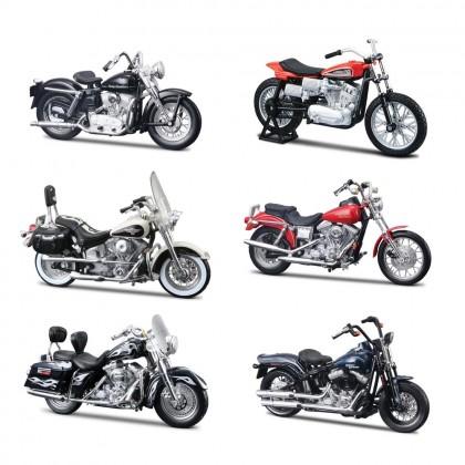MAISTO 39360-31 серия Модель мотоцикла 1:18 Харлей Дэвидсон в ассортименте