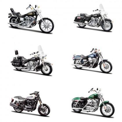 MAISTO 39360-32 серия Модель мотоцикла 1:18 Харлей Дэвидсон в ассортименте