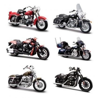 MAISTO 39360-33 серия Модель мотоцикла 1:18 Харлей Дэвидсон в ассортименте