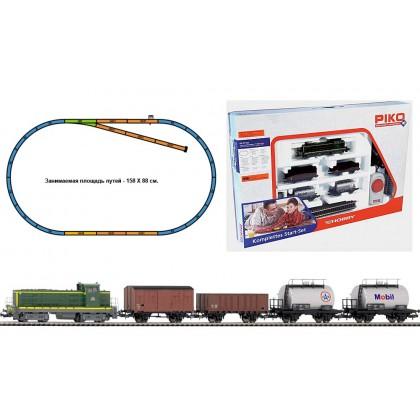 PIKO 57162 Стартовый набор Грузовой поезд