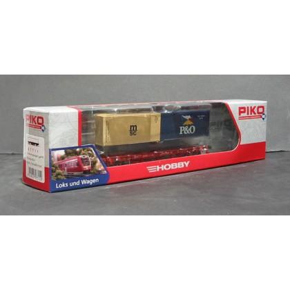 PIKO 57711 Аксессуары.Платформа с контейнерами