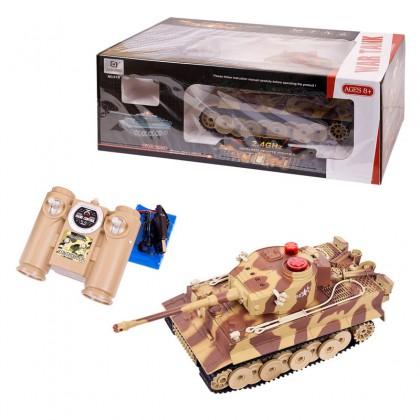 Abtoys C-00058 (518)Танк р/у, с инфракрасным наведением, со звуком и светом, с аккумулятором, 16х23х
